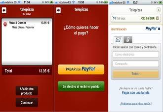 Telepizza-Paypal