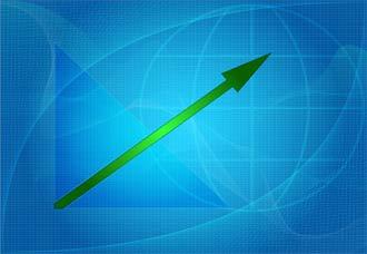 Flecha-crecimiento