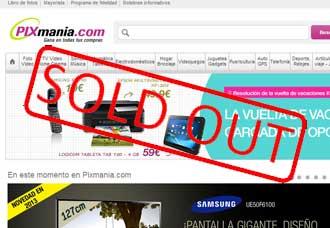 Pixmania-vendido