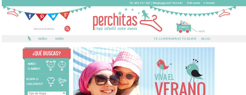 8f603314 Nace Perchitas.com, nueva tienda online infantil de compra, venta y  compromiso social - Ecommerce News