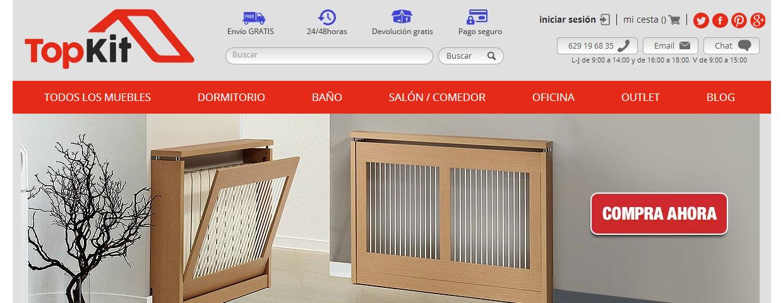 Llega a la red Topkit.es, nueva tienda online de muebles ...
