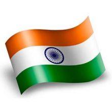India-bandera