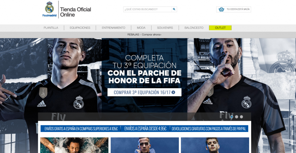 918f5562cb440 Ecommerce Review del Real Madrid CF. ¿Una tienda de primera