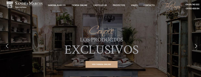 Sandra Marcos estrena tienda online - Ecommerce News