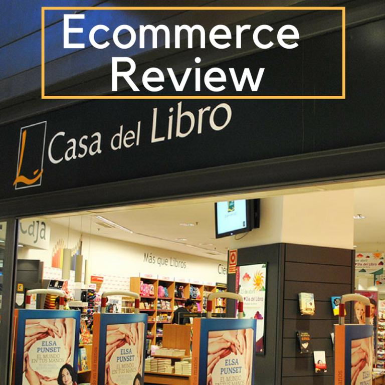 Ecommerce Review de la Casa del Libro